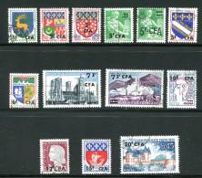 Divers Timbres De 1961-65 Oblitérés - Used Stamps