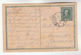 1917 Enns AUSTRIA  Postal STATIONERY CARD Stamps Cover - Stamped Stationery