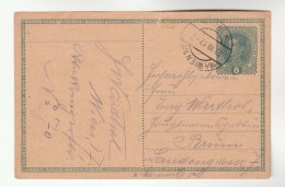 1917 Wien AUSTRIA  Postal STATIONERY CARD Stamps Cover - Stamped Stationery