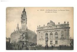 Lille - La Nouvelle Bourse - Le Nouveau Théatre Et La Place Du Théatre - Lille