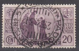 Regno D'Italia - 1931 - 7° Centenario Antoniano - 20 Cent. - 1900-44 Victor Emmanuel III