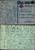 3290a)cartolina In Franchigia   Del  7-12-42per Catania - 1900-44 Vittorio Emanuele III