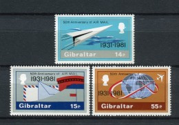 Gibraltar 1981. Yvert 430-32 ** MNH. - Gibilterra