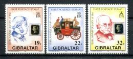 Gibraltar 1990. Yvert 607-09 ** MNH. - Gibilterra