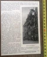 DOCUMENT ANNEES 1900 LE VIEUX PARIS DEMOLI SAINT SEVERIN MAISON DU CHAT QUI PELOTE RUE GALANDE - Old Paper