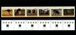 AUSTRALIA - 1996  45c. KANGAROOS & KOALAS  P & S  STRIP SNP CAMBEC  4 KOALAS REPRINT  MINT NH - Nuovi