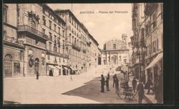 Cartolina Ancona, Piazza Del Plebiscito - Ancona