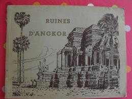 Ruines D'Angkor. . Cambodge. Photos Nadal Saïgon. Sd (1950). Monod Anhkor Vath Neak-pean Takeo Baphuon Bayon - Géographie