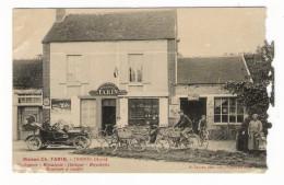 AUBE / TRAINEL / MAISON  Ch. TARIN  ( Horlogerie-bijouterie, Optique, Bicyclettes, Machines à Coudre )/ Edit. G. LACOSTE - Otros Municipios