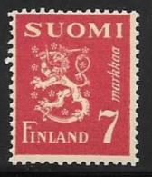 Finland, Scott # 260 MNH Lion Arms, 1947 - Finland