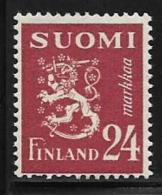 Finland, Scott # 274 MNH Lion Arms, 1948 - Unused Stamps