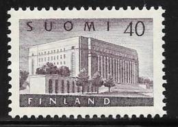 Finland, Scott # 337 MNH House Of Parliament, 1956 - Finland