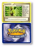 POKEMON 2006 - TRAINER - X Accuracy - Battle - 7 / 8 - Nintendo - Trading Figure Game - Pokemon