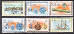 ST.  HELENA  ISLANDS  318-23  **   SAILING  SHIPS  AND TREASURE - Saint Helena Island