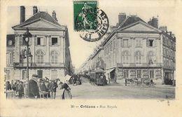 Orléans - Rue Royale - Tramway - Edition B.F. Paris N° 20 - Orleans