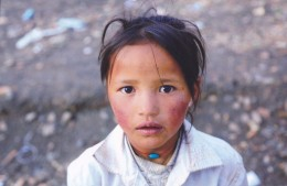 China - A Tibetan Girl At Qomolangma Base Camp, Tingri County Of Tibet - Tibet