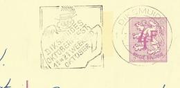 Publibel Obl. N° 2605  ( Nationale Loterij) Obl:  Diksmuide + Fl: Oktoberfesst 1* W-k Oktobeer - Stamped Stationery
