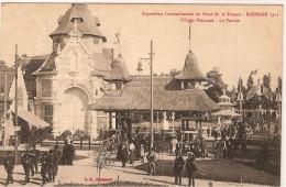 CPA - 59 - ROUBAIX -Exposition Du Nord De La France 1911 - Village Flamand - Le Porche - - Roubaix