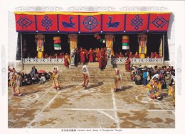 China - Lamaist Devil Dance In Dongzhulin Monastery, Shangri-La County Of Yunnan Province - Tibet
