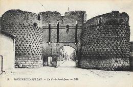 Montreuil-Bellay (Maine-et-Loire) - La Porte Saint-Jean - Carte ND N° 2 Non Circulée - Montreuil Bellay