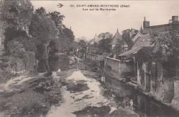 G , Cp , 18 , SAINT-AMAND-MONTROND , Vue Sur LaMarmande - Saint-Amand-Montrond