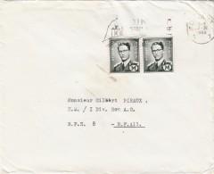 LETTRE BELGIQUE PAIRE BAUDOUIN  M. 1.50F  DINANT  / 7758 - Sin Clasificación