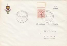 LETTRE BELGIQUE S.M. 2Fr BdF  B.P.S. 1  / 7776 - Belgique