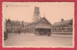 Feluy - La Gare Et L'Hôtel Des Postes - 1958 ( Voir Verso ) - Seneffe