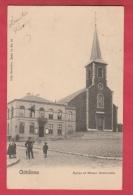 Châtelineau - Eglise Et Maison Communale - 1905 ( Voir Verso ) - Châtelet