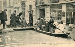 INONDATION(PARIS) - Inondazioni
