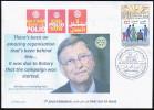 ARGELIA 2014 - FDC  Rotary Bill Gates Polio Disabled Handicap Handicapés Behinderten Discapacitados - Rotary, Lions Club