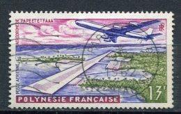 POLYNESIE -  Yv. N°  PA 5  (o)  13f  Aéroport  Cote  2,5 Euro BE - Oblitérés