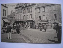 22 - CPA - GUINGAMP - Rue Notre-Dame - COMMERCES - Belle Carte ANIMEE - Guingamp