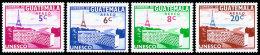 Guatemala, 1960, UNESCO, New Headquarters, United Nations, MNH, Michel 655-658 - Guatemala