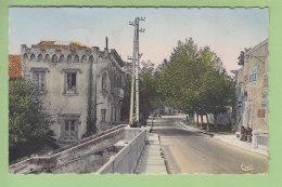 PONT SAINT ESPRIT : Entrée De La Ville, Maison Du Roi . 2 Scans. Edition Cim, Format CPA - Pont-Saint-Esprit