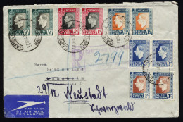 A4121) UK South Africa Registered Cover From Capetown 12/17/37 To Germany - Südafrika (...-1961)