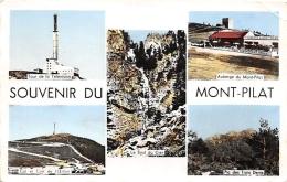 LOIRE  42  MONT PILAT  SOUVENIR  VUES MULTIPLES - Mont Pilat