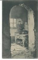 GIL376 -STUDIE AUS TIROL - KUCHEEINEMEISACKTALER BAUERNHOF - F.P. - VIAGGIATA 1900 - Italien