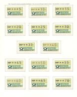 Germania ATM 36 Diff. Values **/MNH VF - Distributors