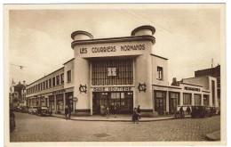 CPA - 14 - CAEN - La Gare Routière 6 Les Courriers Normands - - Caen