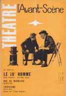 C1 Jose Andre LACOUR Le 10e HOMME Avant Scene Theatre 1961 Judaica CHAYEFSKY - Théâtre
