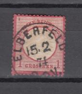 Germany DR 1872,Michel 19 Mit Stempel ELBERFELD 15-2-1874,Used/Gestempelt(A2632) - Oblitérés