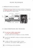 1 FICHE TECHNIQUE DE PRESENTATION DES BILLETS DU BICENTENAIRE DE LA REVOLUTION PLV PUBLICITÉ FDJ FRANÇAISE DES JEUX - Advertising