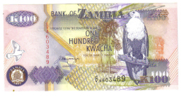 ZAMBIA 100 KWACHA 1992 LOTTO 769 - Zambia