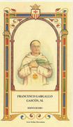 SANTINO SERIE ORDINE MERCEDARIO N. 506 FRANCESCO GARGALLO GASCON M. - Images Religieuses