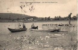 39 CLAIRVAUX-du-JURA  Au Bord Du Grand Lac - Clairvaux Les Lacs