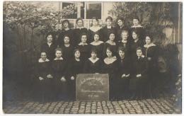 Carte Photo. Arlon. Ecole Normale De L'Etat. Troisième Année D'étude. 1919-1920. - Aarlen