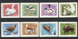 Romania 1968,Protected Birds And Animals, Mi.2724-2731, MNH - 1948-.... Republics