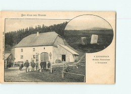 LOUSCHPACH - Frontière - Les Douanes - Beau Plan Animé Des Vosges -  2 Scans - Dogana