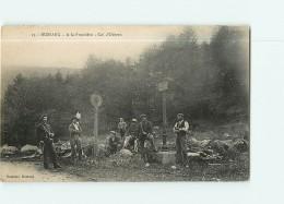 BUSSANG - Col D' Oderen - Frontières - Douanes -  2 Scans - Customs